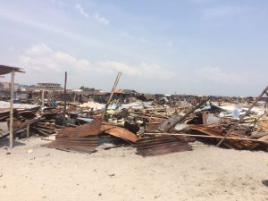 Demolitions of otodo gbame