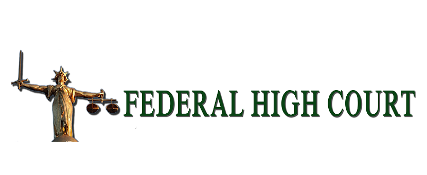 Federal High Court Rules